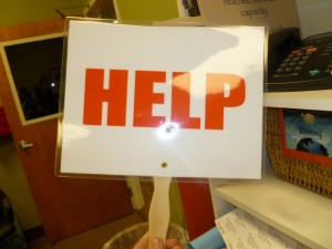 help sign